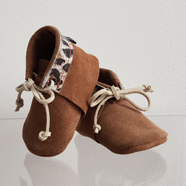 Boho Baby Suede animal