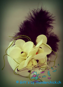 Fascinator Orchidee
