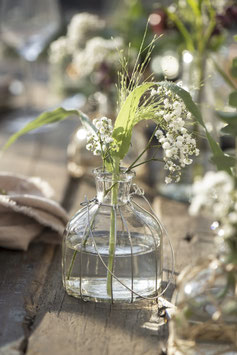 Flasche für Kerzen oder Blumen