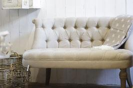 Französisches Leinen Sofa