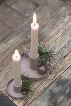 Kerzenhalter malve gross oder klein