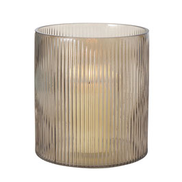 Teelicht oder Vase rillo
