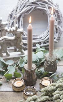 Kerzenhalter Mohn