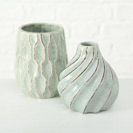 Vase green