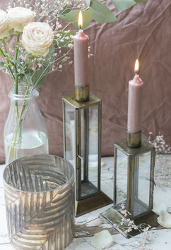 Kerzenhalter  messing klein oder gross