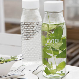 Trinkflasche Water oder Fischli