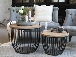 Sofa Tisch klein und gross Set