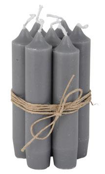 Kerzenbündel  grau