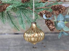 Weihnachtskugel Champanger