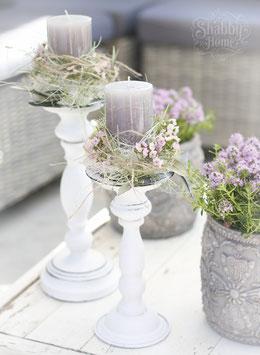 Kerzenständer m.Deko gross