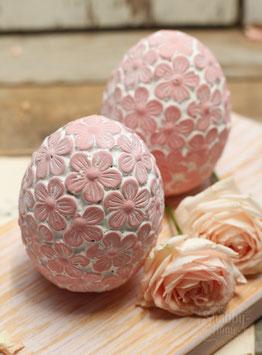 Ei aus Beton rosa/pink