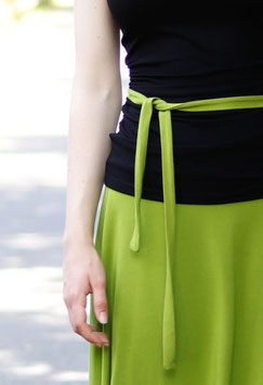 Jerseyband Gürtelband grün