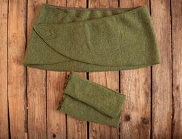 Set: Cacheur und Stulpen grün