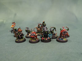 Warhammer game workshop underworlds Zarbag's Gitz