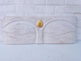 Yeux de Bouddha - 35 X 120 cm