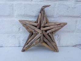 Etoile en bois flotté - 35 cm