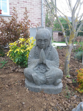 Shaoline en prière - 60 cm