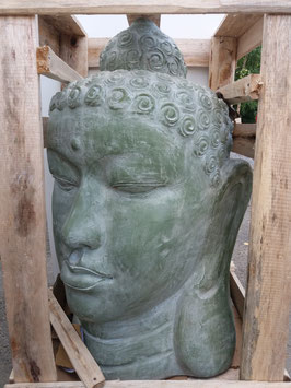 Tête de bouddha  - 85 cm