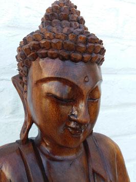 Bouddha debout Vitarka - en bois - 80 cm