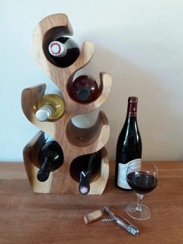 Porte bouteilles /6 - 50 cm