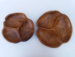 Set de 2 Plats apéro - 28 & 33 cm