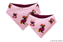 "Bandana Summer Pug ""Missy"""