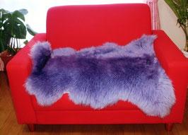 紫系1枚皮ムートンフリース