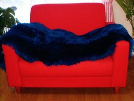 ブルー系長毛2枚つなぎムートンフリース