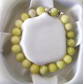 Bracelet Chrysoprase citron