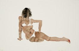 DESNUDO 5/ watercolor