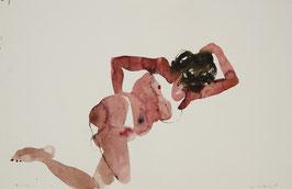 Desnudo 4/ watercolor
