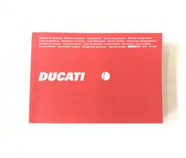 Garantieboekje Ducati