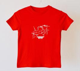 "Camiseta para niños. ""Telalibre batería"" 100% algodón orgánico!"
