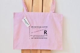 """Bolso """"R"""" de calidad y duradero. 80 % algodón reciclado, 20 % poliéster reciclado!"""