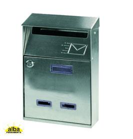 Cassetta postale in acciaio inox