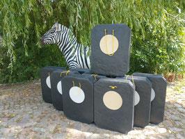 YATE DOUBLE Polimix R 80x60cm/30 + INS DURA 30 Zielscheibe Gewicht 3,5 kg