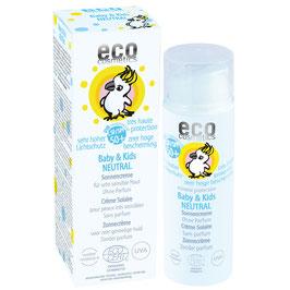 eco cosmetics Sonnencreme Baby & Kids Neutral ohne Parfum