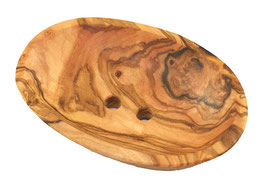 Seifenschale Olivenholz oval mini