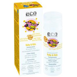eco cosmetics Sonnencreme für Kinder LSF 50