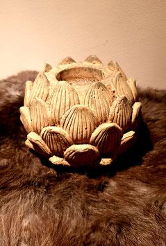 Brynxz stenen artichok waxinehouder