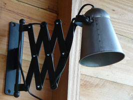 By Mooss wand/schaarlamp industrieel