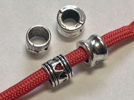 Paracord Beads Großlochperlen Antik Silber