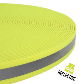 Wasserbeständiges Gurtband Reflektierend Neon Gelb