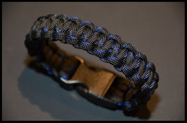 Bracelet/Armband Cobra Thin Blue Line Mix