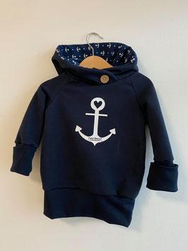 LOLA Hoodie Navy Anker
