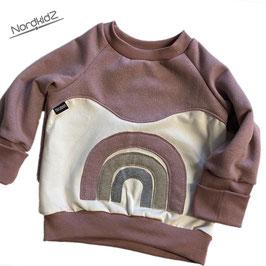Regenbogen Sweater NEU Altrosa