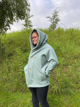 Mama Oversize Walk Jacke Mint