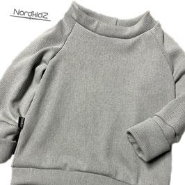 FEINSTRICK Sweater Frühling grau