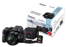 Panasonic Lumix FZ 330 inkl. Originaltasche und 32GB Highspeed-Karte