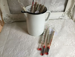 nr: 1425 oude Engelse thermometers van glas